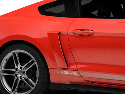 Roush Quarter Panel Side Scoops - Unpainted (15-16 All)