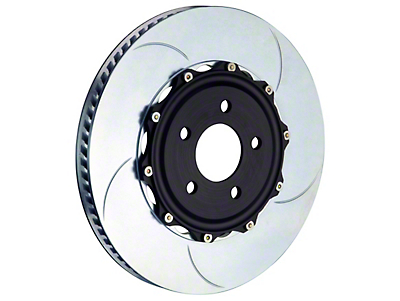 Brembo 2-Piece 14 in. Slotted Rotors - Front Pair (11-14 GT Brembo, 12-13 BOSS, 07-12 GT500)