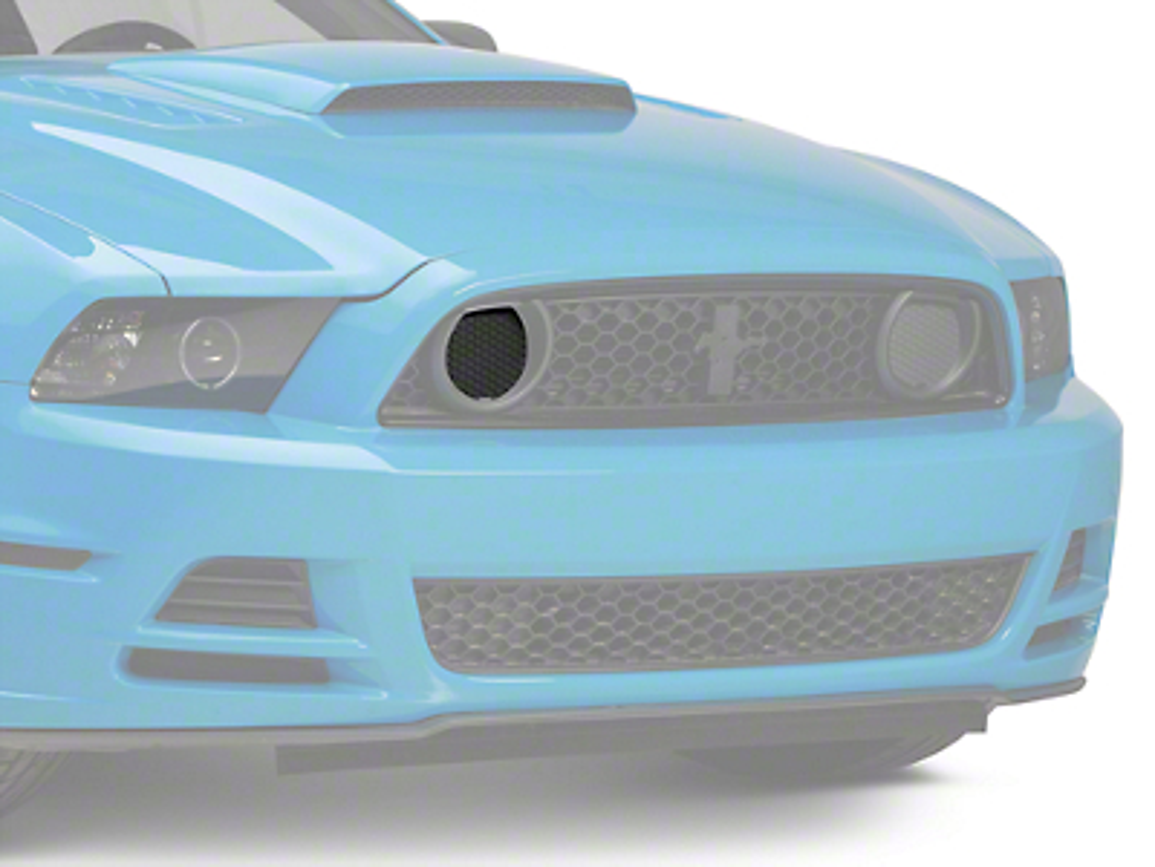 Ford Boss 302 Fog Light Delete - Passenger Side (2013 BOSS)