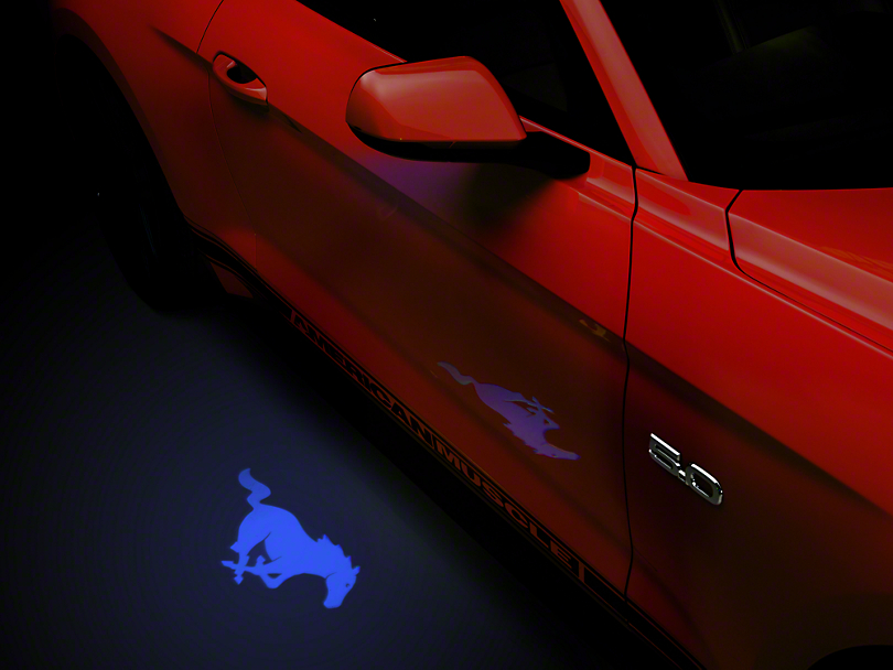 American Muscle Graphics Mustang Side View Mirror Puddle