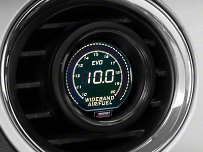Dual Color Wideband Air/Fuel Ratio Gauge - Digital, Green/White (79-16 All)