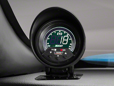 Premium Quad Color Boost/Vac Digital Gauge - 35psi Electric (79-16 All)