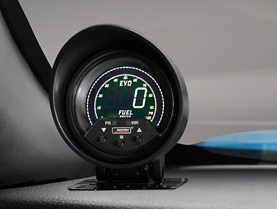 Premium Quad Color Fuel Pressure Digital Gauge - Electric (79-16 All)