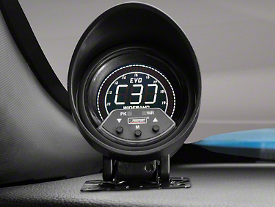 Premium Quad Color Wideband Air/Fuel Ratio Gauge - Digital (79-16 All)