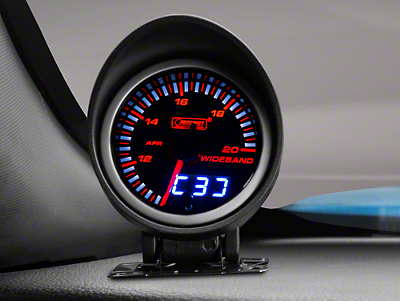 Dual Display Wideband Air/Fuel Ratio Gauge - Amber/White (79-16 All)