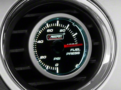 Dual Color Fuel Pressure Gauge - Electric, Blue/White (79-15 All)