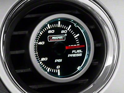 Dual Color Fuel Pressure Gauge - Electric, Blue/White (79-17 All)