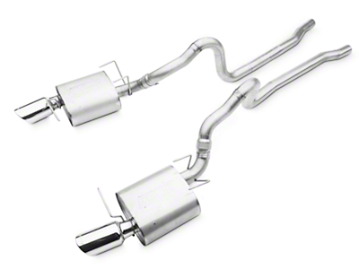 Borla Touring Catback Exhaust (13-14 GT, BOSS)