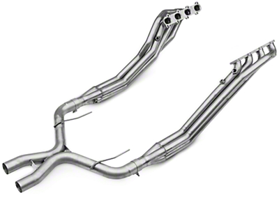 Borla Long Tube Headers and Off-Road X-Pipe (07-10 GT500)