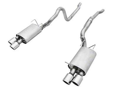 Borla Touring Cat-Back Exhaust (13-14 GT500)