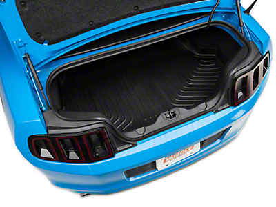 Husky Weatherbeater Trunk Liner - Coupe w/o Shaker 1000 (10-14 All; Excludes GT500)
