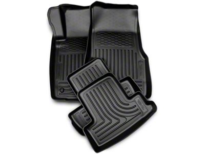 Husky Weatherbeater Floor Liners - Front & Rear (10-14 All)