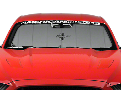 Covercraft UVS100 Heat Shield - Tri-Bar Pony Logo (15-16 All)