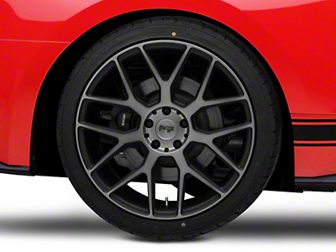 Niche Intake Black Machined Wheel - 20x10 (15-17 All)