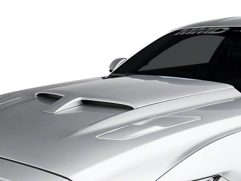 mmd by foose mustang hood scoop unpainted 387384 00 15. Black Bedroom Furniture Sets. Home Design Ideas