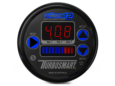Turbosmart e-Boost2 Boost Controller, 60mm - Black (79-17 All)