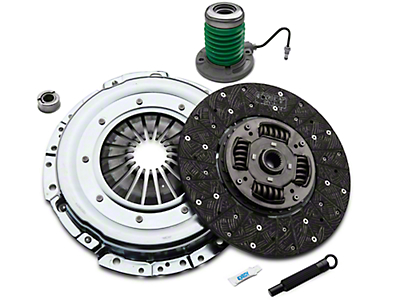 Exedy Grooved Mach 500 Stage 3 Clutch w/ Hydraulic Throwout Bearing (11-16 GT)
