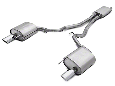 Borla Touring Cat-Back Exhaust (15-17 EcoBoost)
