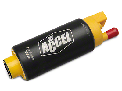 Accel Thruster 500 Series Fuel Pump - Center Inlet (85-97 V8)