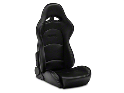 Procar Evolution Black Vinyl Reclining Seat - Driver Side (79-14 All)