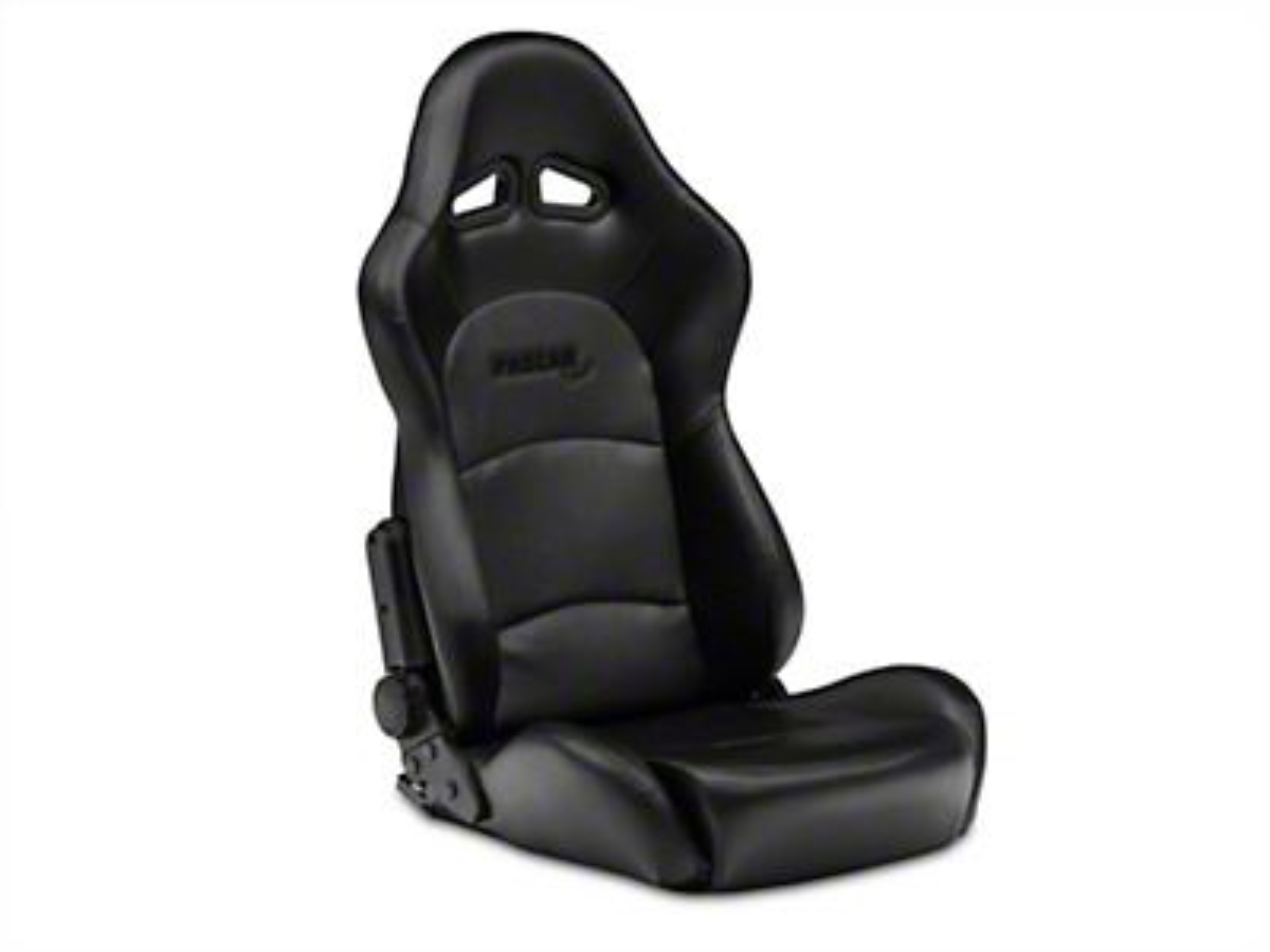 Procar Sportsman Pro Black Vinyl Reclining Seat - Universal (79-14 All)