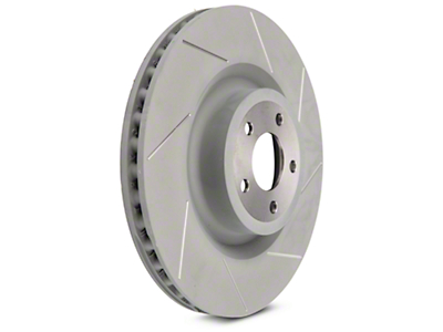 Steeda 15 in Slotted Rotors - Front Pair (15-16 GT w/ Performance Pack)