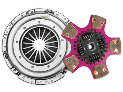 Exedy Mach 700 Stage 4 Clutch w/ Puck-Style Flywheel and Hydraulic Throwout Bearing (15-16 GT)