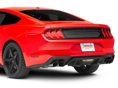 Ford Racing Smooth Deck Lid Panel - Gloss Black (2015 All)