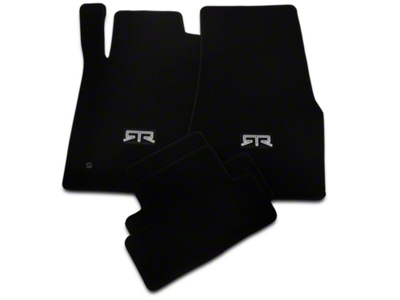 RTR Black Floor Mats - RTR Logo (05-10 All)