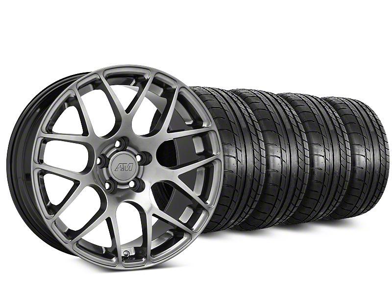 AMR Dark Stainless Wheel & Mickey Thompson Tire Kit - 18x8 (94-04 All)