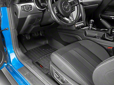Weathertech Black Front Floor Liners (15-16 All)