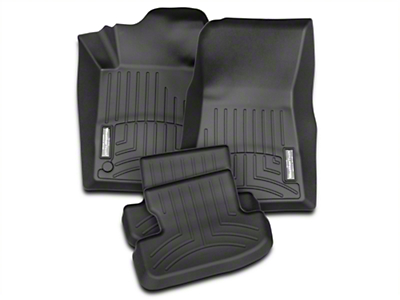 Weathertech Black Front & Rear Floor Liners (15-17 All)