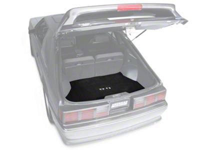 Replacement Hatch Carpet - Black w/ 5.0 Logo (87-93 All)