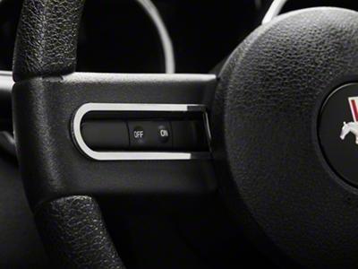 Modern Billet Chrome Steering Wheel Button Bezels (05-09 All)