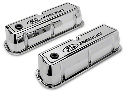 Ford Racing Polished Valve Covers (289, 302, 351W)