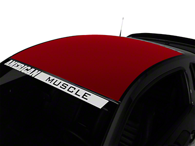 Red Solid Roof Decal (05-14 All)