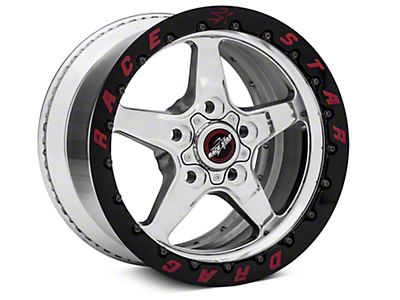 Race Star Drag Star 92 Double Bead Lock Drag Wheel - 15x10 (05-14 All: Excludes 07-14 GT500)