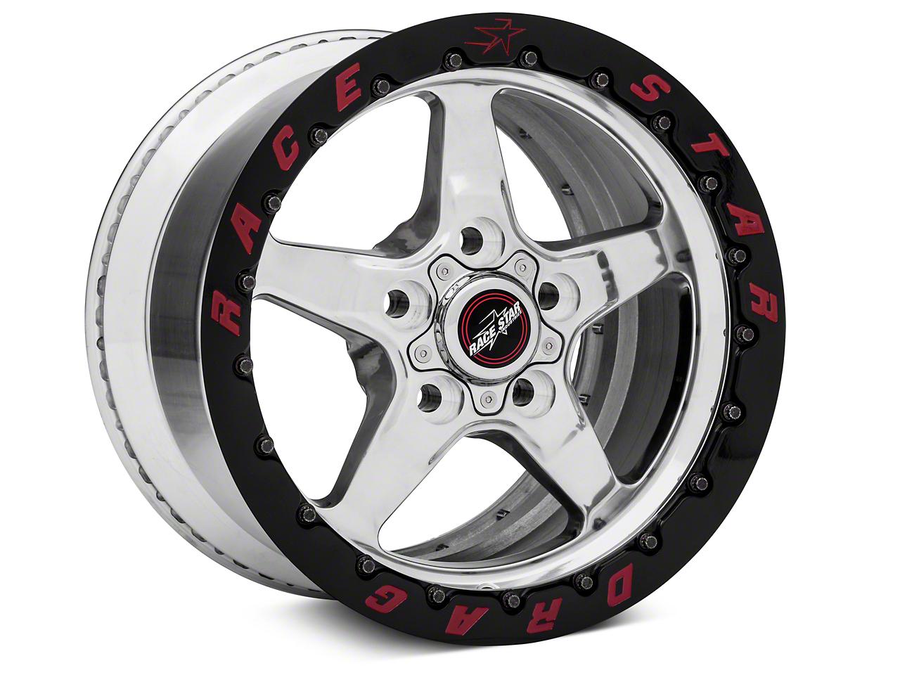 Race Star Drag Star 92 Double Bead Lock Drag Wheel - 15x10 (05-14 All: Excludes 07-14 GT500)