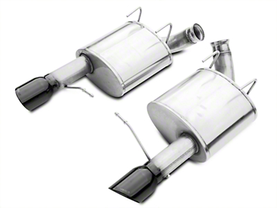 Corsa Sport Axle-Back Exhaust - Black Tips (11-14 GT, Boss)