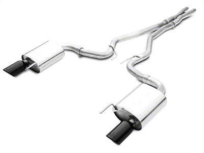 Borla ATAK 2.5in Catback Exhaust - Black Tips (15-16 GT)