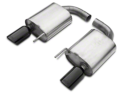 Borla Stinger S-Type 2.5in Axle-Back Exhaust - Black Tips (15-16 GT)