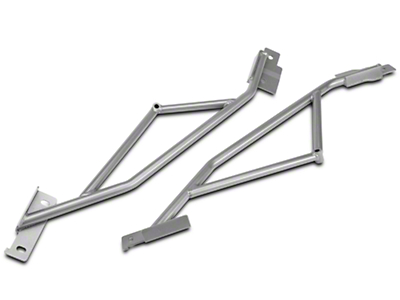 Steeda IRS Subframe Braces - Fastback (15-16 All)