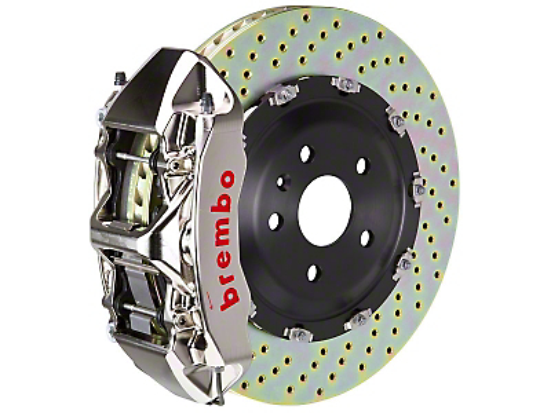 Brembo GT-R 6-Piston Front Brake Kit - 15in Drilled Rotors (15-17 All)
