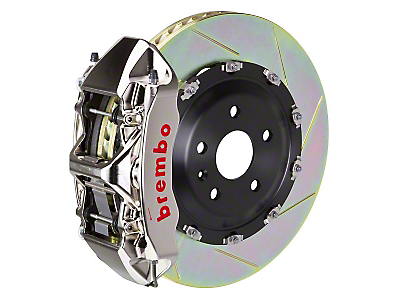 Brembo GT-R 6-Piston Front Brake Kit - 15in Type 1 Slotted Rotors (15-16 All)