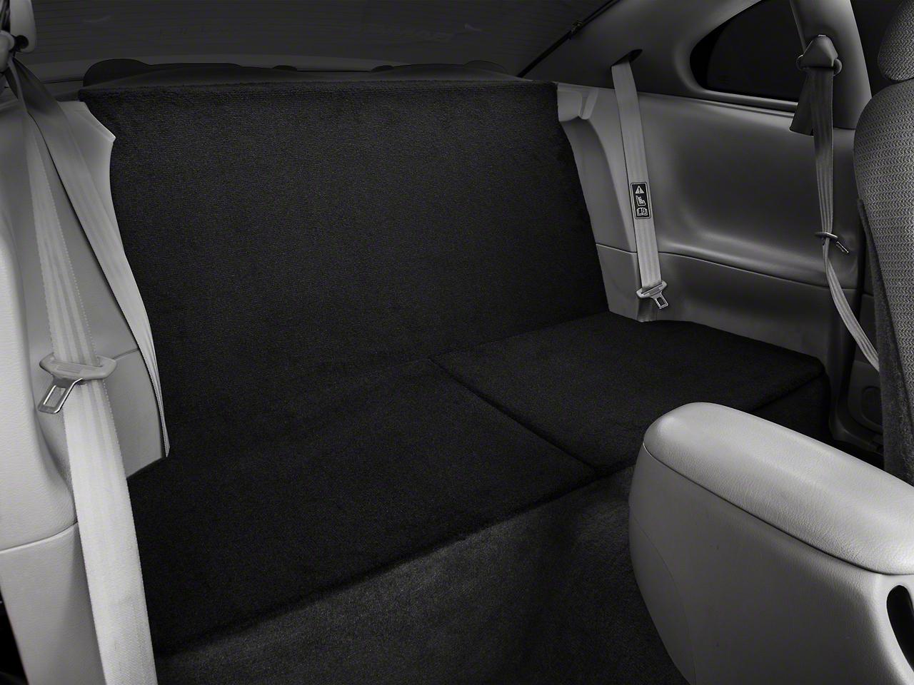Rear Seat Delete - Coupe - Black (94-04 All)