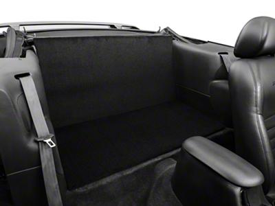 Rear Seat Delete - Convertible - Black (94-04 All)