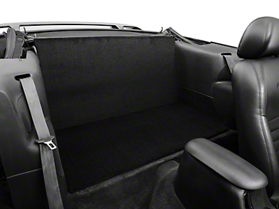 Rear Seat Delete - Convertible - Black (94-04 All)