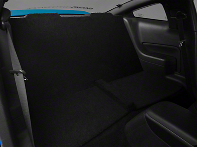 Rear Seat Delete - Coupe - Black (05-10 All)