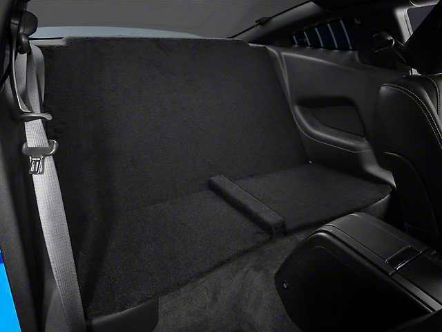 Mustang Rear Seat Delete Coupe Black 11 14 Coupe
