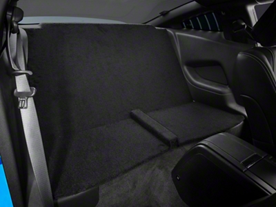Rear Seat Delete - Coupe - Black (11-14 All)